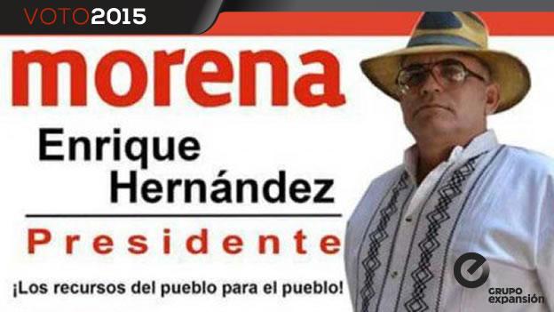 El candidato del partido Morena a la alcaldía de Yurécuaro.