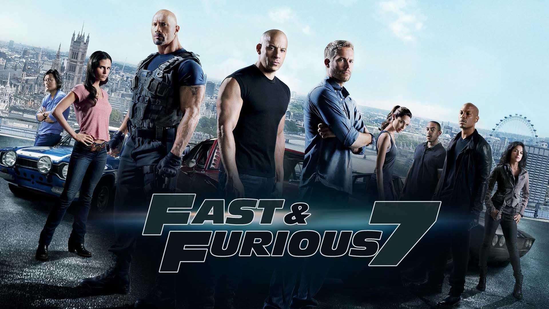 Rápidos y Furiosos 7 (2015) - Inglés Subtitulado - HD