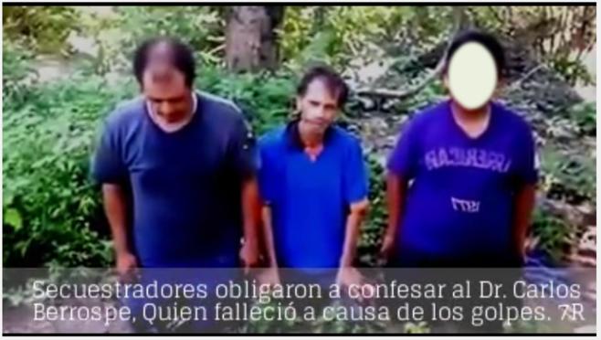El Ministerio Público Julio Linares de Arcelia los obligó a subir a la Sierra de Totolapan por un Cadáver casi al caer la noche; revela Berrospe quien fue reportado como muerto por sus dos compañeros liberados