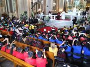 Encuentro con Niños en la Catedral